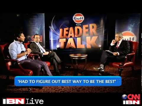 CNN-IBN Leader Talk (Season 1, Episode 2) - Feat. Kumar Sangakkara and Phiroz Vandrevala