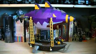World of Warcraft Mega Bloks 91014 Goblin Zeppelin Ambush Review WOW