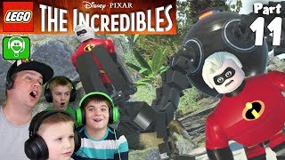 LEGO The Incredibles Part 11 Syndromes Lair with HobbyFamilyTV