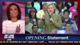 Judge Jeanine Blasts Hillary Clinton in Opening Statement