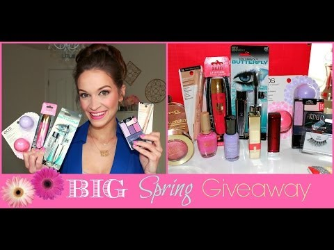 ✿ BEST DRUGSTORE MAKEUP FOR SPRING! ✿ & $550 GIVEAWAY!