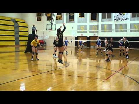 Maribeth Ault - Volleyball Solanco High School Junior Year 2013 - Cocalico Game