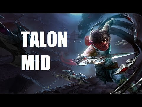 League of Legends - Talon Mid - Full Game Commentary