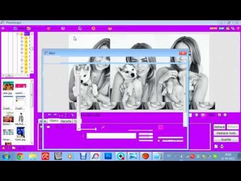 Hacer un Blend sin fotos Png en PhotoScape!