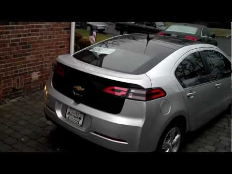How to install Chevy Volt charging station.
