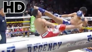 Headkick Knockout Best of August 2014 (High Kick VS Low Kick)