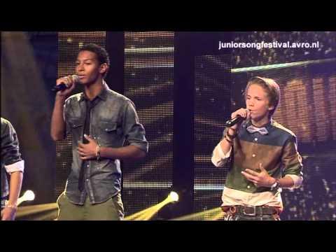 Mainstreet met Stop the Time - Halve finale Junior Songfestival 2012