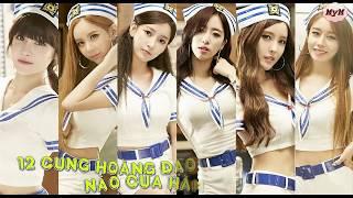 12 cung hoàng đạo là nhóm nhạc nữ nào của hàn quốc -kpop