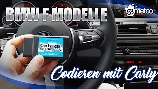 BMW F Modelle mit Carly codieren - BMW F Model coding with Carly