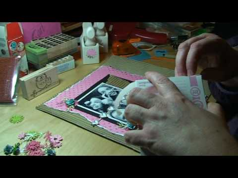 SCRAPBOOK LAYOUT - GOOFY FACES - OWLS - MARTHA STEWART Video
