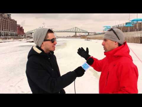 Conférence de presse pour le Défi canot à glace Montréal
