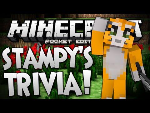 STAMPY CAT TRIVIA Stampylonghead Trivia Map Minecraft Pocket Edition
