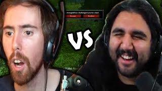 Esfand vs Asmongold 1v1 Duels