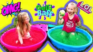 GELLI BAFF Surprise Toy Challenge!!! LOL Surprise Dolls Confetti Pop!!!