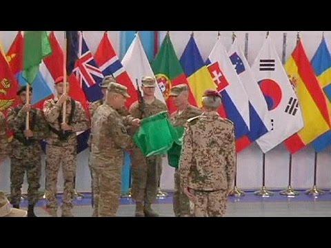 حلف الأطلسي ينهي مهمته في أفغانستان