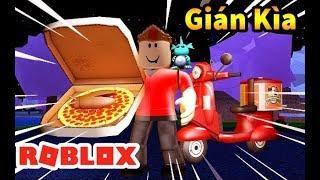 Roblox - Mình Làm Đầu Bếp Pizza Có Gián Kim Đóng Gói Giao hàng - Work at a Pizza Place
