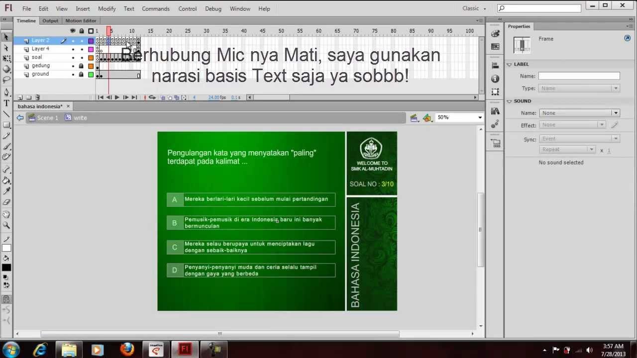 Tutorial Membuat Presentasi Dengan Macromedia Flash 8 ...