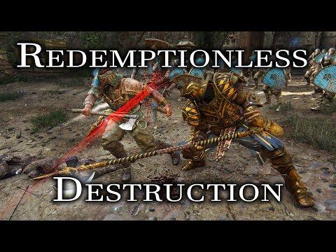 For Honor - Redemptionless Destruction