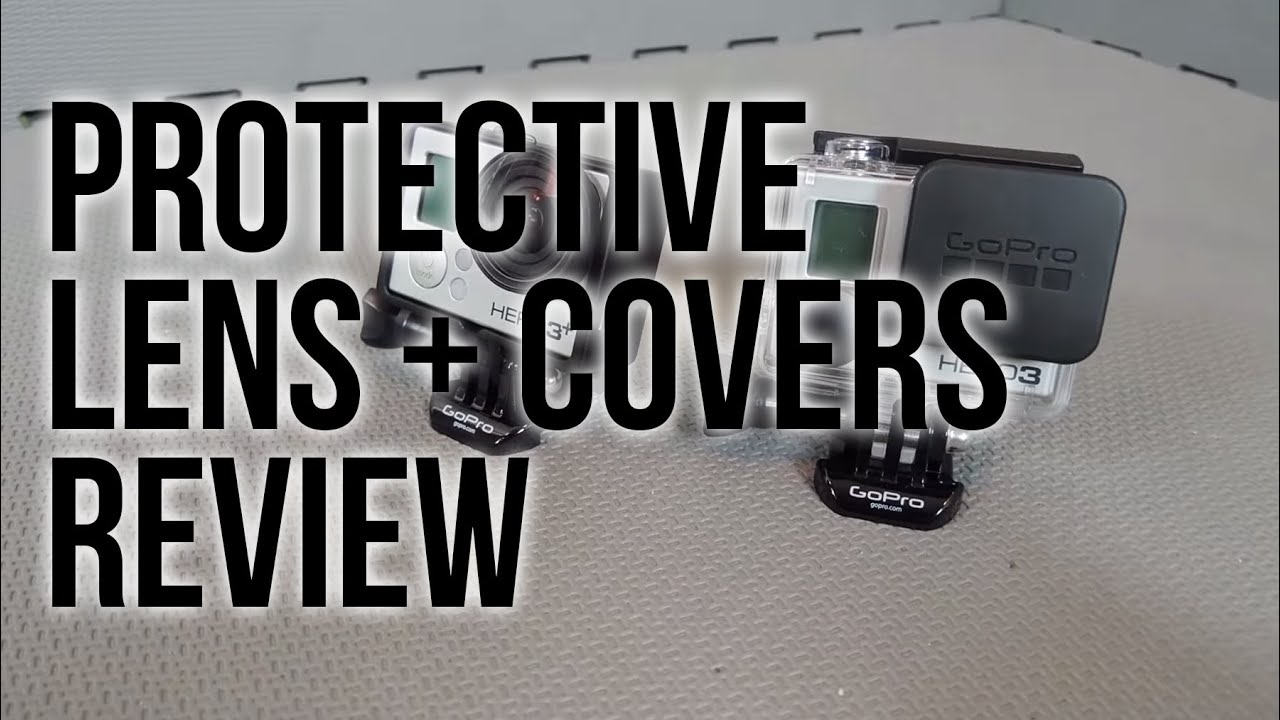 Protective Lens Gopro Gopro Protective Lens Covers
