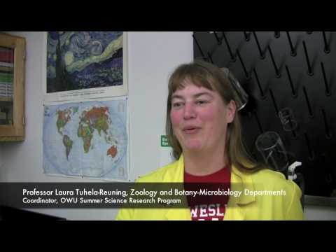 SSRP 2010: Meet Ohio Wesleyan University's Coordinator of the Summer Science Research Program...