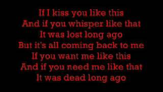 Celine Dion - Its All Coming Back To Me Now (Lyrics)