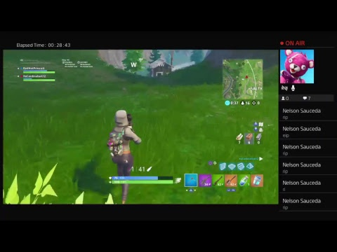 Fortnite game hitting a lot of crazy snipes