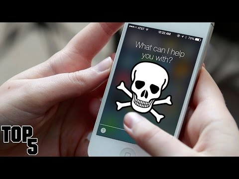 Top 5 Words You Should NEVER Say To SIRI