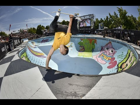 2nd Place Run, Karl Berglind - 90.51 | Vancouver, 2017 Pro Tour | Vans Park Series