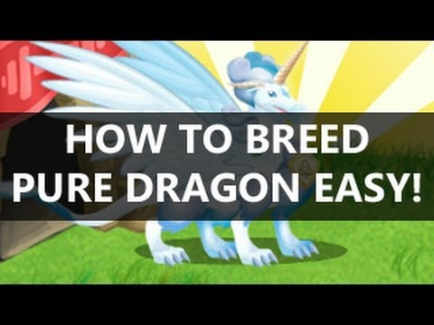 How to Breed PURE DRAGON in Dragon City Facebook Game EASY