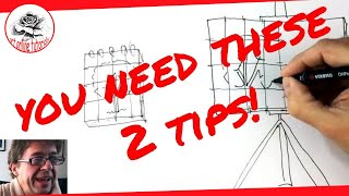 How to Transfer and Enlarge a Drawing The Easiest Way | Drawing and Painting Tips