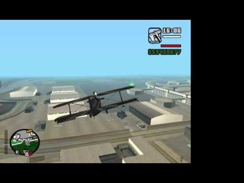 como colocar  un avion achorro en el gta san andreas pc