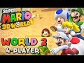 Youtube Thumbnail Super Mario 3D World - World 2 (4-Player)