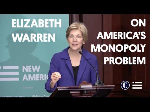 Senator Elizabeth Warren Keynote | America's Monopoly Problem