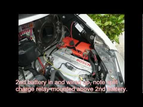vw t4 auxiliary battery youtube. Black Bedroom Furniture Sets. Home Design Ideas