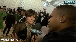 Kris Jenner Talks Fashion and Family at 2018 Met Gala