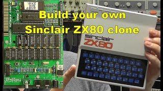 Scullcom Hobby Electronics #51 - Build a Sinclair ZX80 Clone