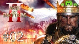 Let's Play Age of Empires 2 HD #002 [Deutsch/HD] - 1vs.1vs.1