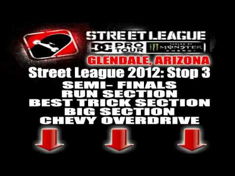 STREET LEAGUE 2012 ARIZONA: FULL CONTEST VIDEO LINKS