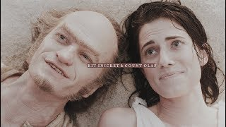 [asoue] kit snicket+count olaf || i'll bleed you dry.