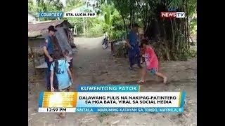 BT: Dalawang pulis na nakipag-patintero sa mga bata, viral sa social media