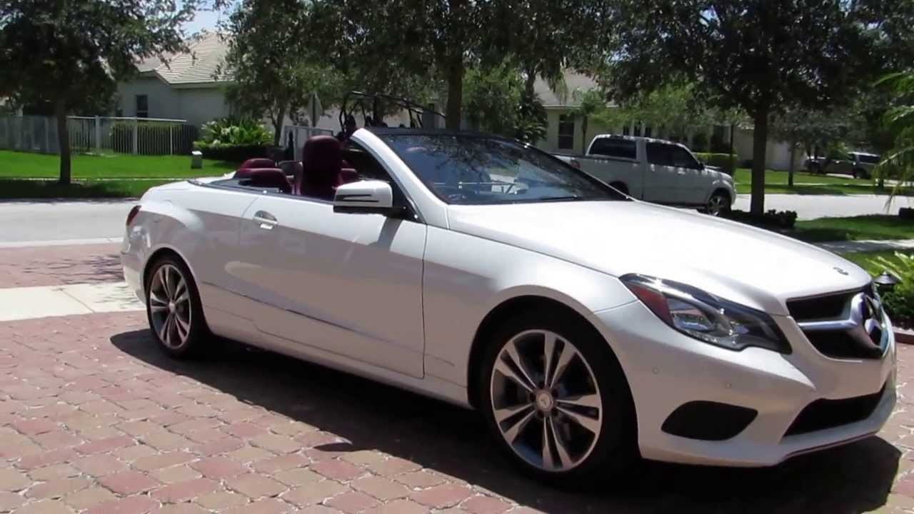 2014 Mercedes E350 Cabriolet By Advanced Detailing Of