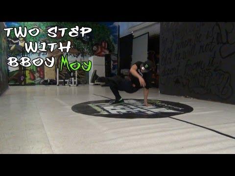 How To Breakdance | Two Step Ft. Bboy Moy (havikoro, Monster Bboys) | Footwork | Coolazntutorials video