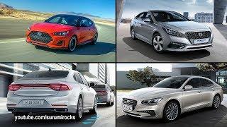 TOP 5 BEST HYUNDAI CARS 2019