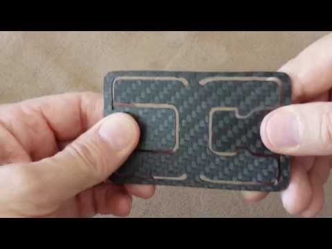 Flexy - Carbon Fiber Money Clip