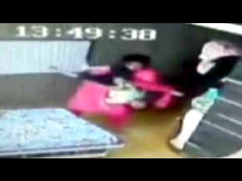 Caught on camera: Three-year-old assaulted by tutor at home in Kolkata