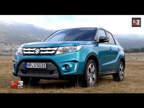 NEW SUZUKI VITARA 2015 - FIRST TEST DRIVE - ENG ITA SUBTITLES