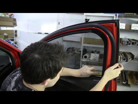 How to Tint a Door Window