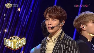 "[Inkigayo] Ep 941_""Tell Me"" by Infinite"