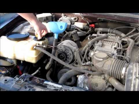 Heater Core Flushing - 1994 Chevy Caprice LT1/L99 DIY Wagon 350 V8