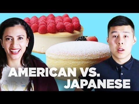 American Vs. Japanese: Cheesecake